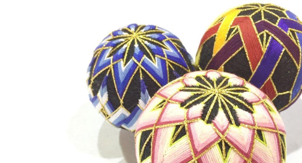 <!-- 095 --> Temari Ball Making Workshop - Sunday 11th December 2021