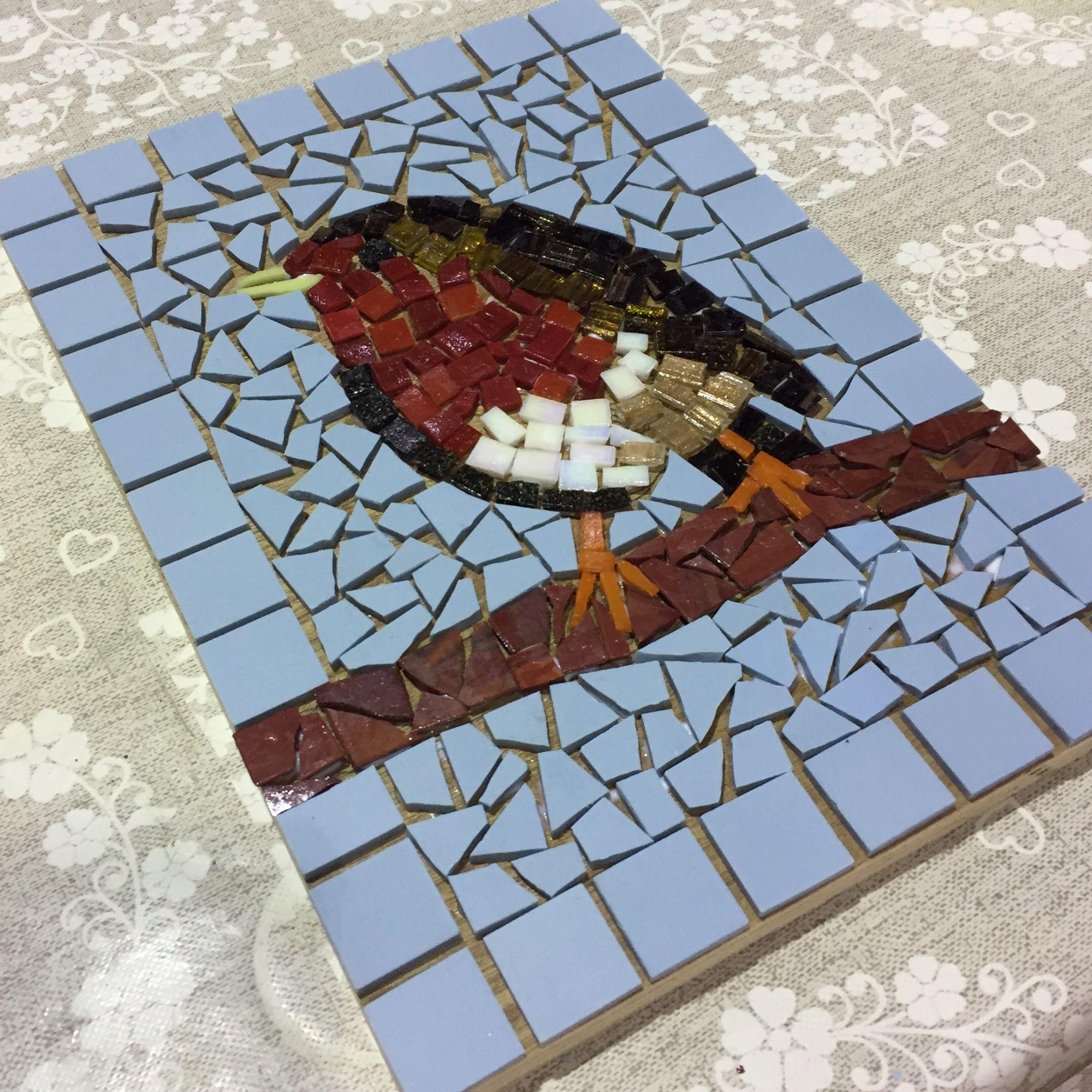 Mosaic Workshops - Robin