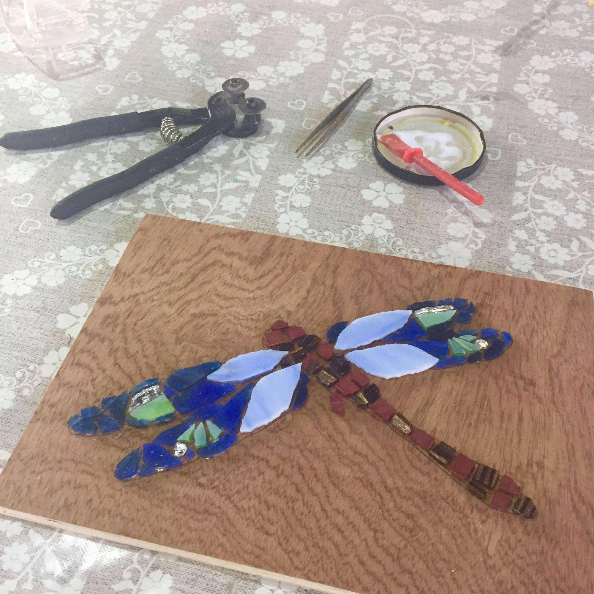 Mosaic Workshop - Dragonfly