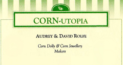 Corn-utopia Business Card