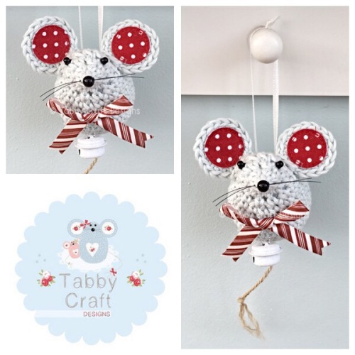 Small Hanging Jingle Bell Mouse