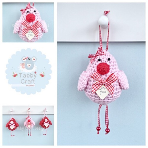 Small Love You Birdie - Pink