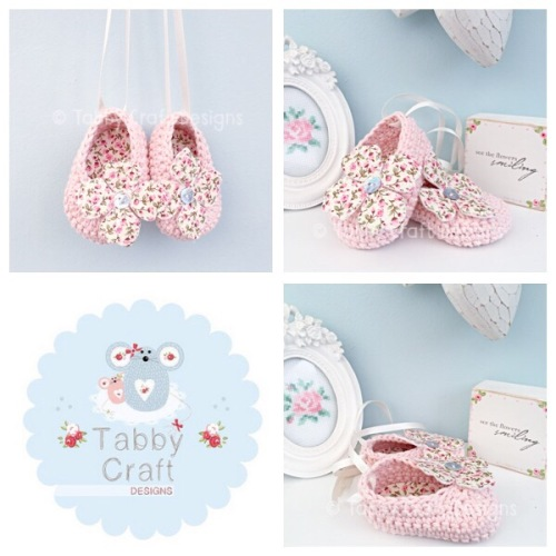Flower Ballerina Baby Shoes - Pink