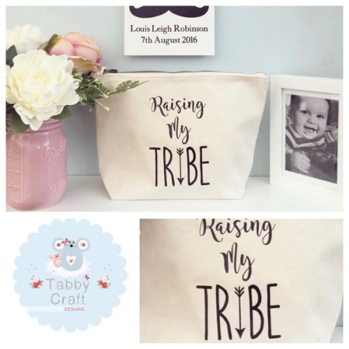 Mama Bag - Raising My Tribe - Natural