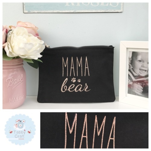 Mama Bag - Mama Bear - Black