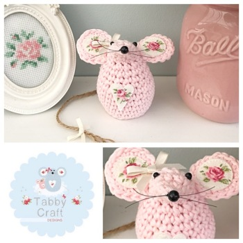 Small Mouse - Pink/Rose