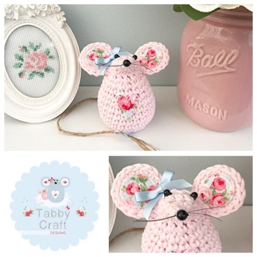 Small Mouse - Pink/Floral