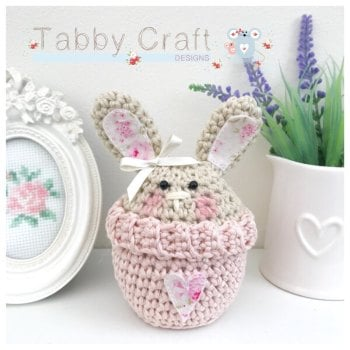 Bunny Peek-a-Boo Buddy - Beige and Pink