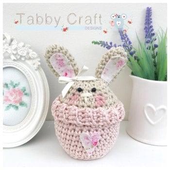 Bunny Peek-a-Boo Buddy - Beige and Pink
