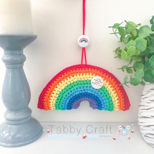*** Pre Order *** Rainbow Hanging Decoration