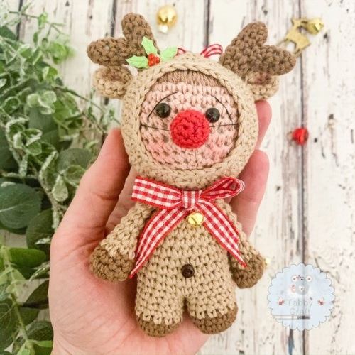 Hanging Christmas Reindeer Kid
