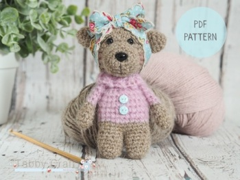 PDF Pattern - Little Bear with a Jumper