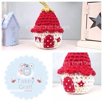 Dinky Flower Cottage - Red