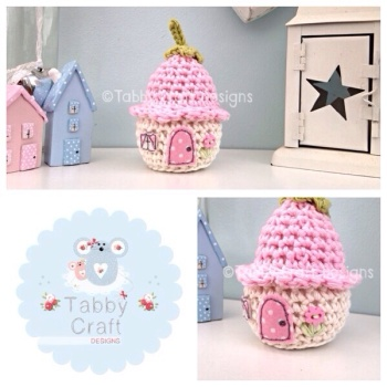 Dinky Flower Cottage - Pink