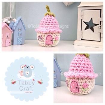 Dinky Flower Cottage - Pink