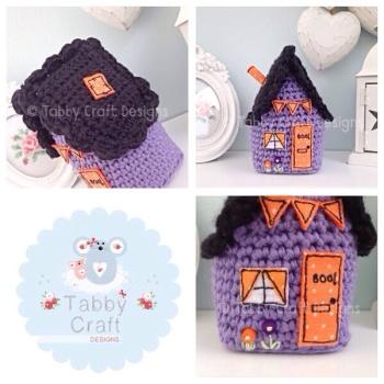 Halloween Higgledy Piggledy Cottage - Purple