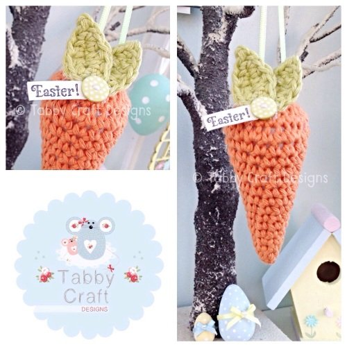Carrot Hanging Decoration