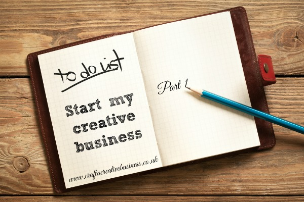 New business start up advice for creatives