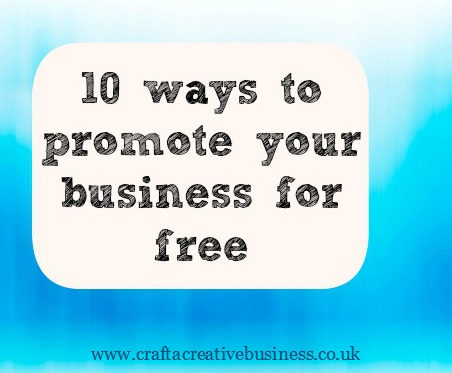 How to promote your business for free