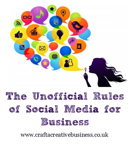 Unofficial rules of social media