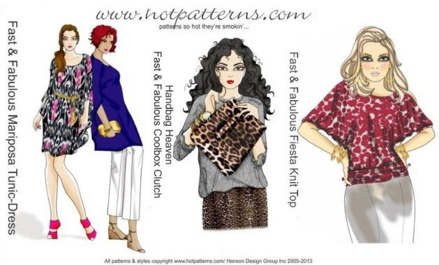 Hot Patterns sewing Patterns UK