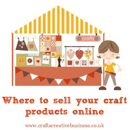 Where to sell your craft products online for How to sell your crafts online