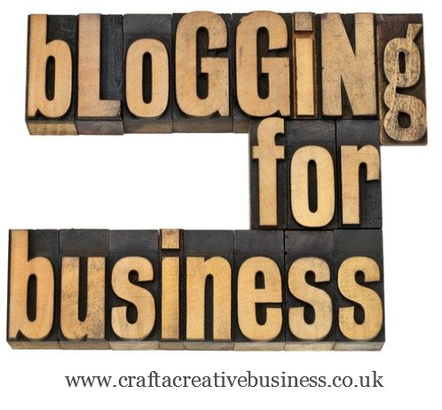 Blogging for creative businesses
