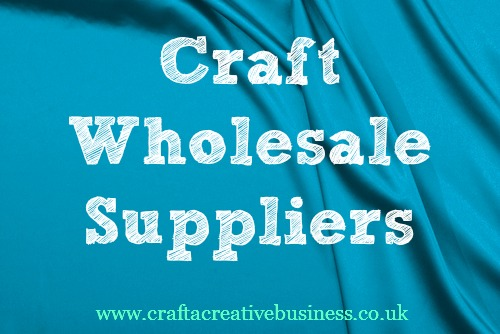Where to find craft wholesalers