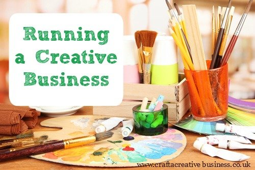 Running a creative business by Maeri Howard