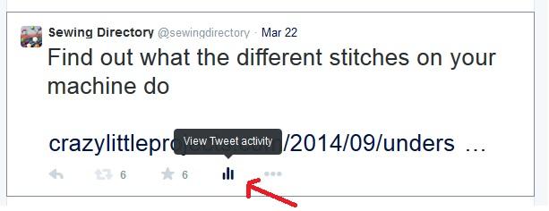 New Twitter analytics