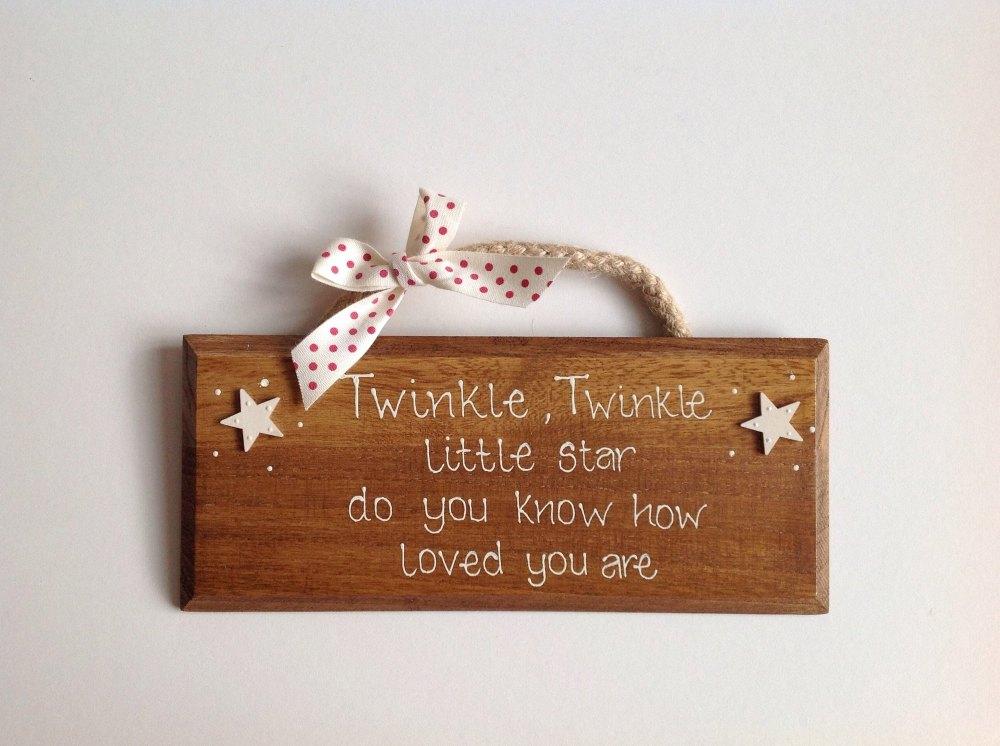 Twinkle, Twinkle little star...