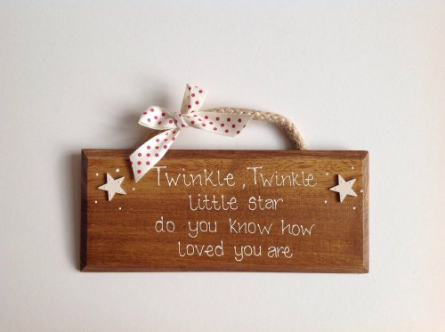 Twinkle, Twinkle little star...
