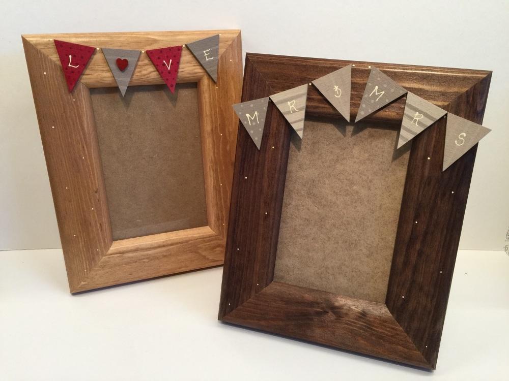 Bunting Frames