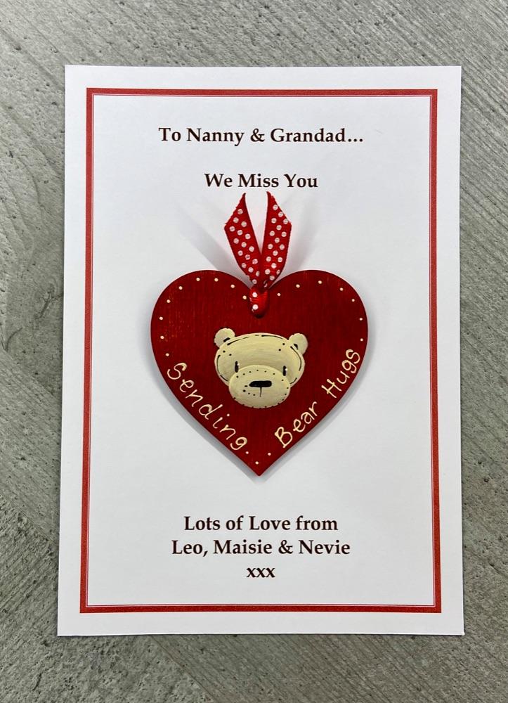 Bear Hugs Cards