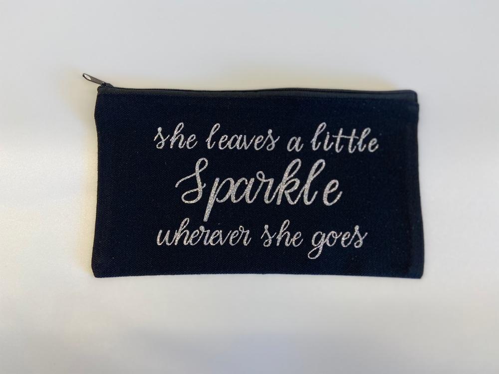 Sparkle Make Up Bag