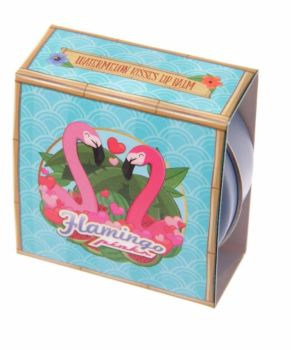 Flamingo Lip Balm Tin (Watermelon Kisses)