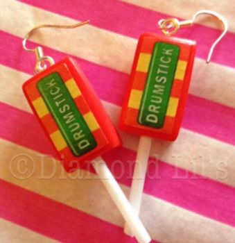 Drumstick Lolly Earrings