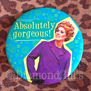 'Absolutely Gorgeous' Pocket Mirror