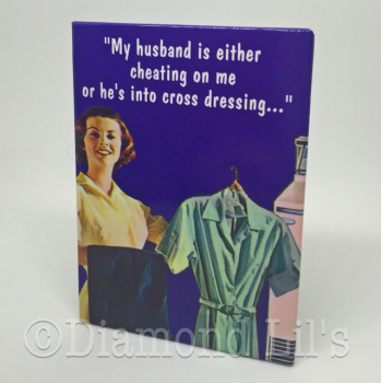 """My Husband..."" Fridge Magnet"