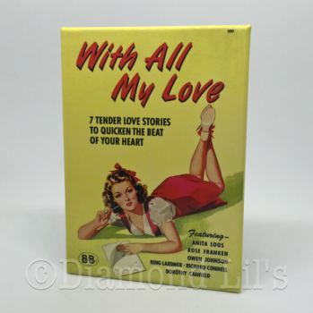 'With All My Love' Fridge Magnet