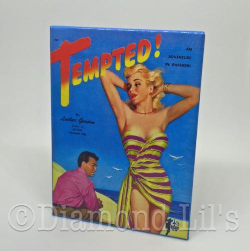 'Tempted!' Fridge Magnet