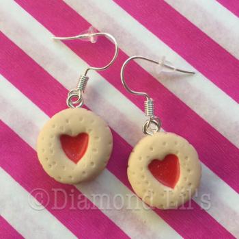 Mini Jammie Biscuit Earrings
