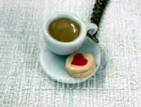 Tea & Biscuit Necklace