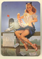 Pin-Up Girl Metal Sign (#3)