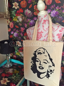 Marilyn Monroe Shopping/Tote Bag