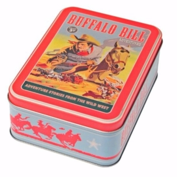 Buffalo Bill Treasure Tin