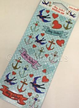 Ahoy Sailor! Sticker Set