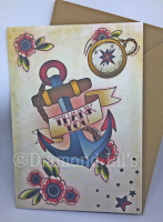 Tattoo 'Thank You' Card