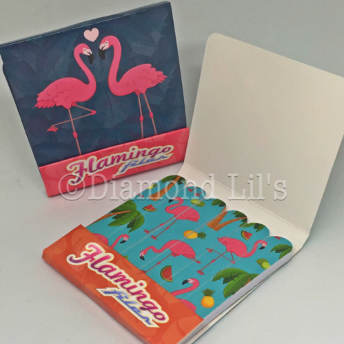 Flamingo Matchbook Nail Files