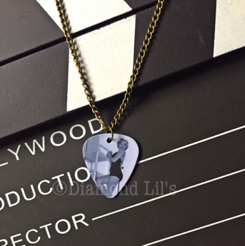 Marilyn Monroe Plectrum Necklace